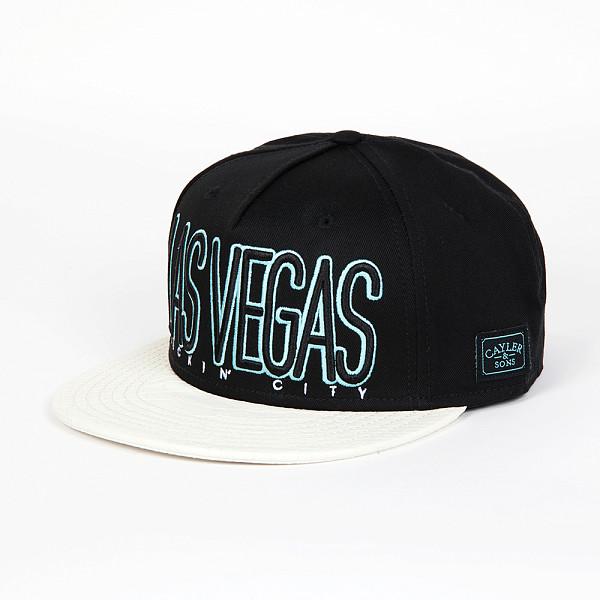 Бейсболка CAYLER & SONS Las Vegas Cap (Black/White Snake/Blue, O/S) vegas душевая дверь vegas ep 75 профиль матовый хром стекло фибоначчи