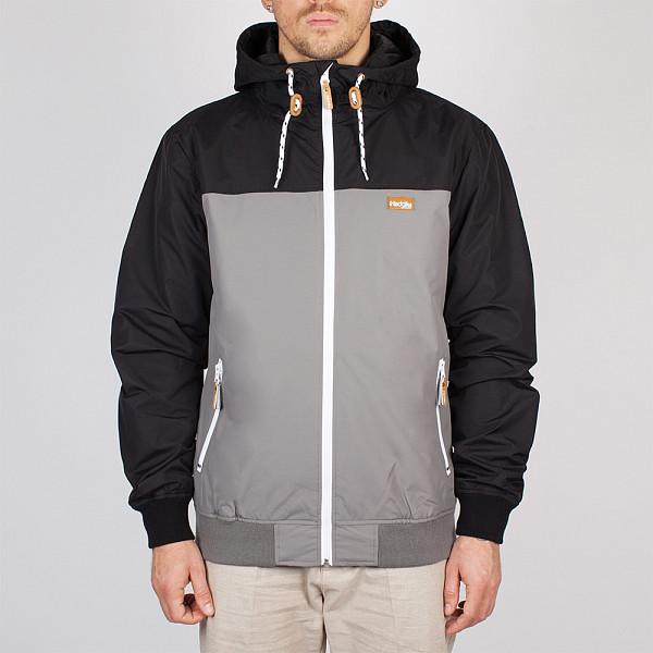 рубашка iriedaily valle bamboo ls shirt mintgrey 462 xl Куртка IRIEDAILY Auf Deck Jacket (Charcoal-702, XL)