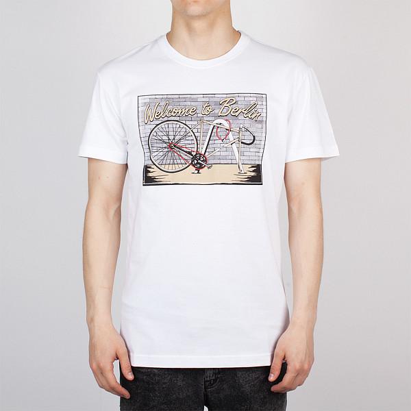 Футболка IRIEDAILY Bike theft Tee (White-710, S) цена 2016