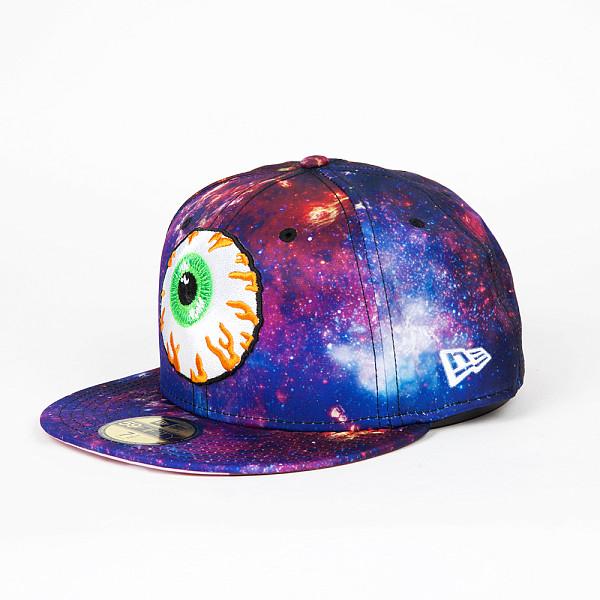 Бейсболка MISHKA Nebula Keep Watch Sub New Era 5950 (Galaxy, 7 1/8) бейсболка mishka new era throwback grey red 7 3 4