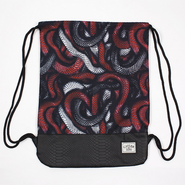 Сумка CAYLER & SONS Milano Gym Bag (Red Snakes/Black/Black Snake)