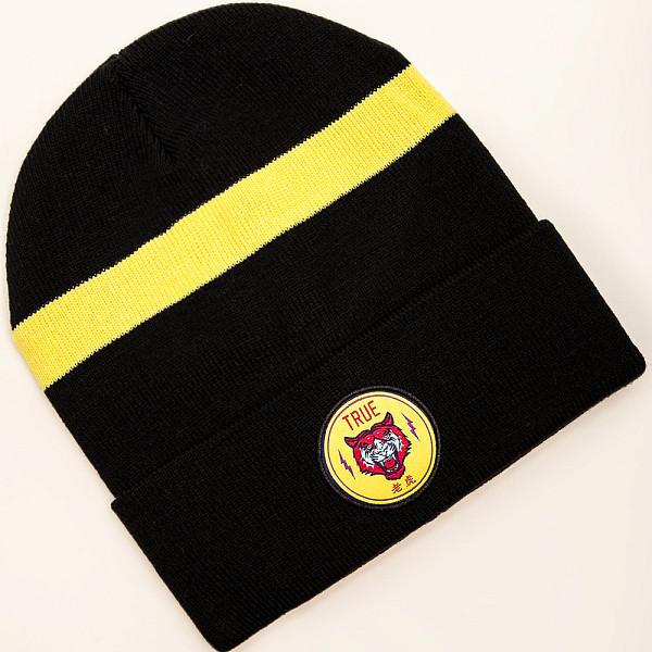 все цены на  Шапка TRUESPIN Tiger Classic Beanie (Navy/Yellow)  онлайн
