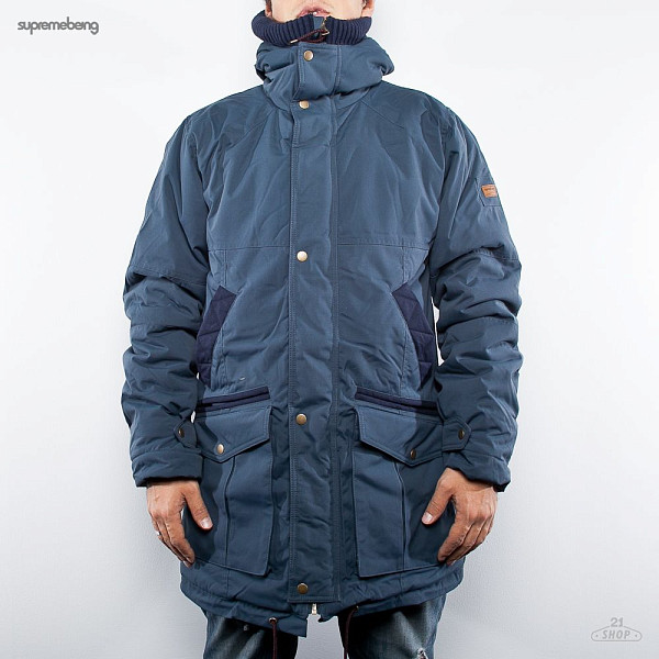 Куртка SUPREMEBEING Overhang Jacket FW12 (Navy, M) куртка зимняя globe outland jacket navy
