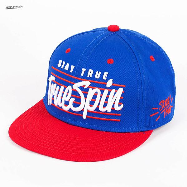 Бейсболка TRUESPIN Truespin-3 (Royal-Red, O/S) бейсболка truespin flower beige suede o s