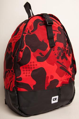 Рюкзак CODERED Standart (Красный Камуфляж/Черный Кожзам)