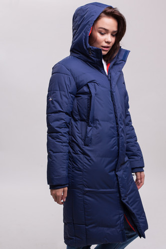 Куртка ЗАПОРОЖЕЦ Телогрейка женская (Navy, XS)