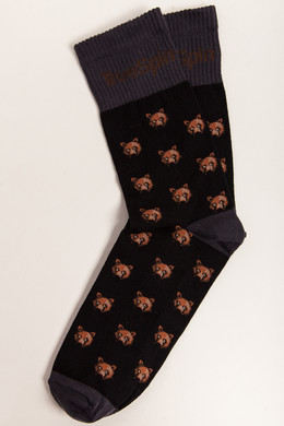 Носки TRUESPIN Bear Black/Brown фото