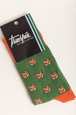 Носки TRUESPIN Fox Green/Orange фото 2