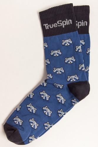 купить Носки TRUESPIN Raccoon (Navy/Grey, O/S) по цене 350 рублей