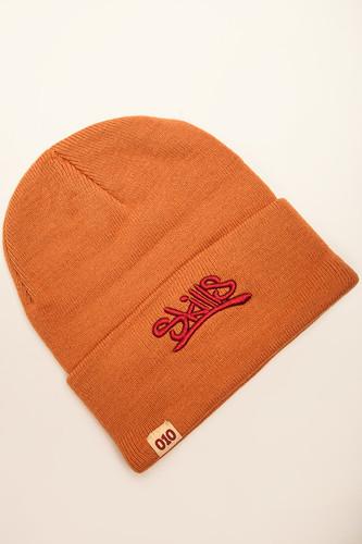 Шапка SKILLS 001 Beanie FW14 (Orange) цена