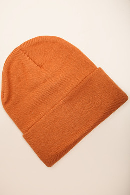 Шапка SKILLS 001 Beanie FW14 Orange фото 2