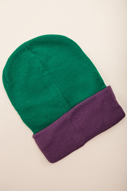 Шапка SKILLS Sport Beanie Light-Green-Purple фото 2