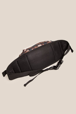 Сумка URBAN CLASSICS Nylon Hip Bag Black/Brown Camo фото 2