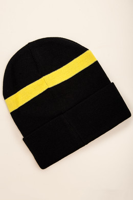 Шапка TRUESPIN Tiger Classic Beanie Navy/Yellow фото 2
