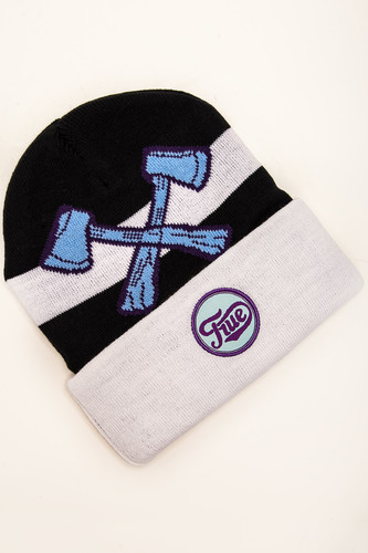 Шапка TRUESPIN Ax Classic Beanie Blue/White фото 3