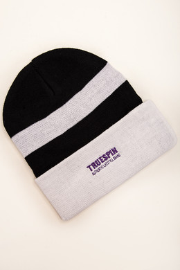Шапка TRUESPIN Ax Classic Beanie Blue/White фото 2
