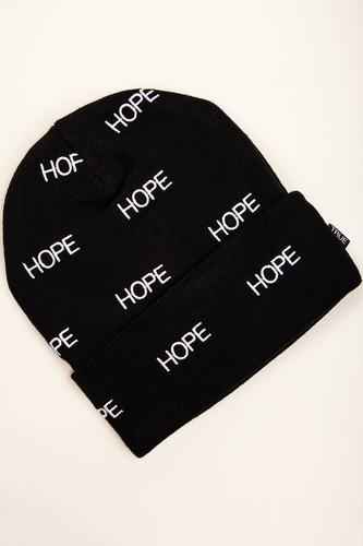 цена Шапка TRUESPIN Hope Allove Classic Beanie (Black) онлайн в 2017 году