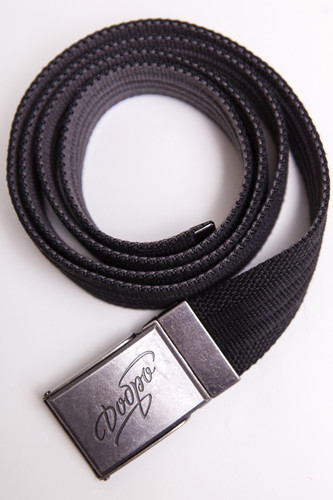 Ремень ЗАПОРОЖЕЦ Webbing Belt Добро (Black/Grey, O/S)
