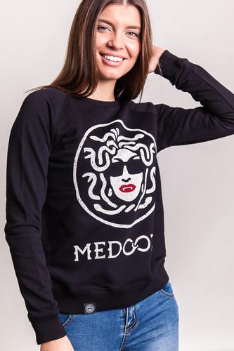 Толстовка MEDOOZA Logo SW-22W женская (Черный, M)