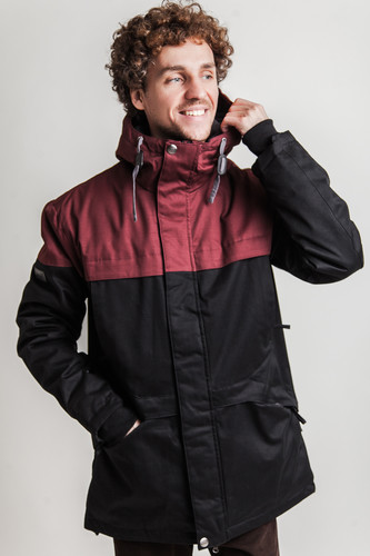 Куртка FREE FLIGHT Cuirass F-1897 (Bordo-Black, XL)