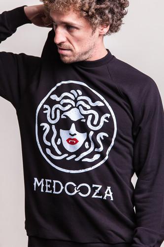 Толстовка MEDOOZA Logo SW-54M (Черный, XL)