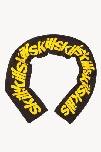 Шарф SKILLS Stepbystep (Черно-Желтый)