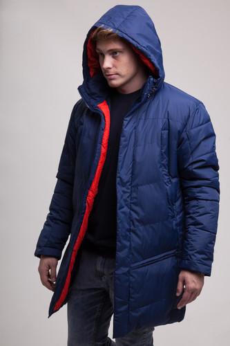 купить Куртка ЗАПОРОЖЕЦ Телогрейка (Navy, XS) по цене 8050 рублей