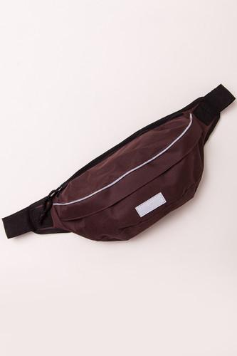 Напоясная Сумка ANTEATER Minibag Refl (Brown)
