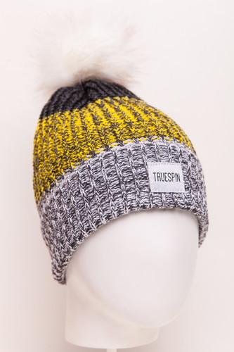 Шапка TRUESPIN Triple (White/Yellow/Grey)