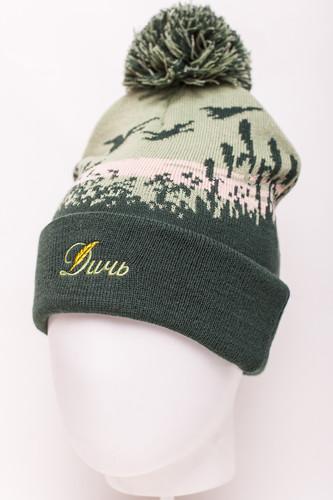 Шапка ЗАПОРОЖЕЦ Дичь Камыши FW18 (Dark Green Multi) шапка humor stomp hood multi