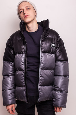 Куртка ANTEATER Downjacket Black-Grey фото