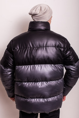 Куртка ANTEATER Downjacket Black-Grey фото 2