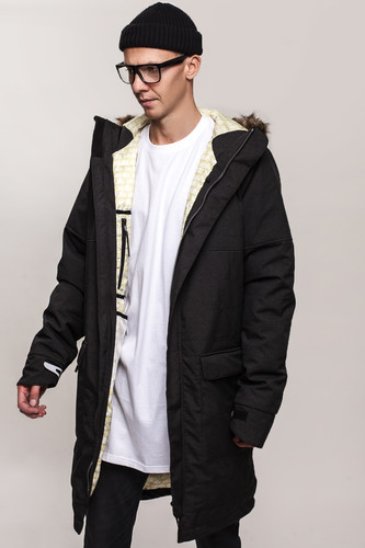 Куртка SKILLS Solid Jacket (Black, 2XL)
