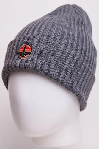 Шапка ЗАПОРОЖЕЦ Огонь (Grey) шапка с помпоном запорожец камо grey orange