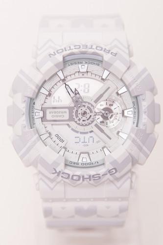 Часы CASIO GA-110TP-7A 5146 (Белый) casio casio ga 110tp 7a
