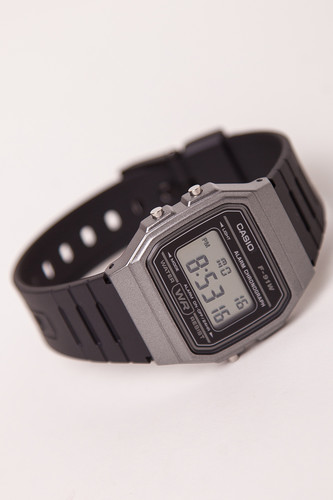 Часы CASIO F-91WM-1B (Черный) casio f 91wm 7a