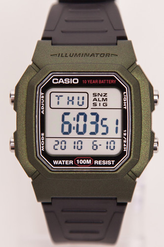 Часы CASIO W-800HM-3A (Черный) часы casio w 800hm 3a черный