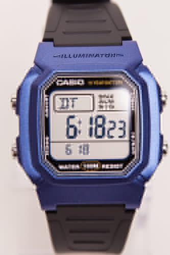 Часы CASIO W-800HM-2A (Черный) сколько часов налета у пилотов в месяц