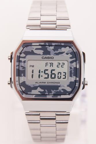 Часы CASIO A-168WEC-1E 1275/3298 (Хром/Серый-1E) casio a 168wec 1e