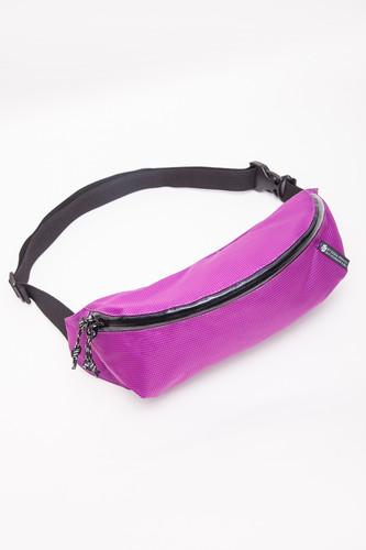 Сумка Гоша Орехов Minimal Fanny Waist Pack (Пурпурная Клетка-02159)