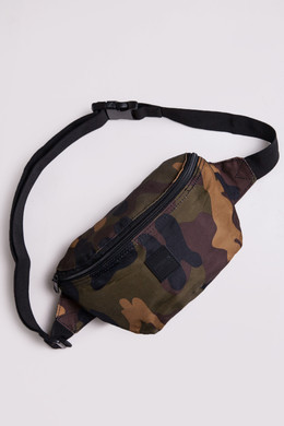 Сумка URBAN CLASSICS Camo Hip Bag Wood Camo фото
