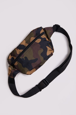 Сумка URBAN CLASSICS Camo Hip Bag Wood Camo фото 2