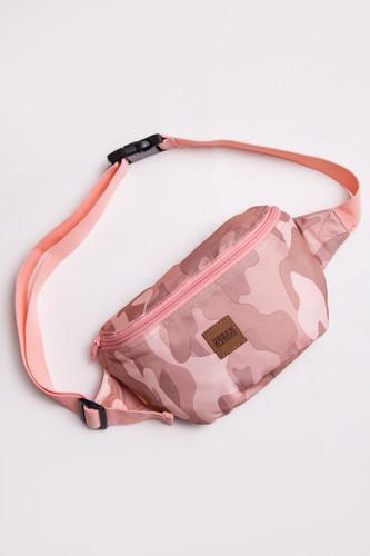 Сумка URBAN CLASSICS Camo Hip Bag (Rose Camo) шорты urban classics camo stripes mesh shorts wood camo black white m