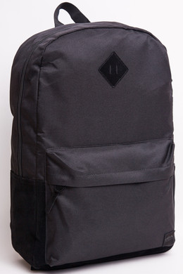 Рюкзак URBAN CLASSICS Leather Imitation Backpack Black/Black фото