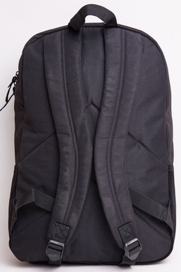 Рюкзак URBAN CLASSICS Leather Imitation Backpack Black/Black фото 2