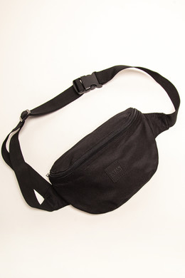 Сумка URBAN CLASSICS Hip Bag Black/Black фото