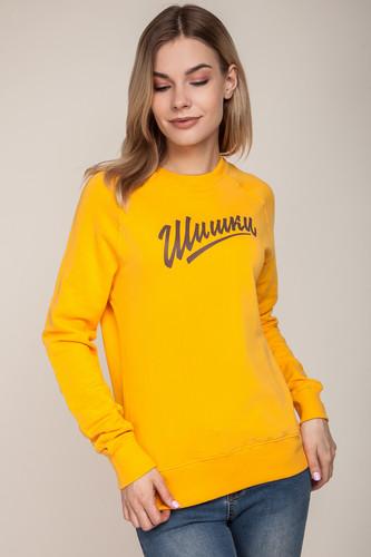 Толстовка ЗАПОРОЖЕЦ Шишки 2 женская (Marigold, 2XL) футболка шишки