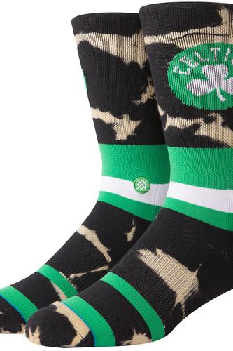 Носки STANCE NBA ARENA CELTICS ACID WASH (GREEN) носки stance nba arena celtics anklet green one size