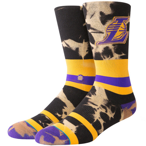 Носки STANCE NBA ARENA LAKERS ACID WASH (YELLOW) носки stance nba arena bulls acid wash red