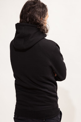 Толстовка TRUESPIN Stripes Zip Hoodie Deep Black фото 2